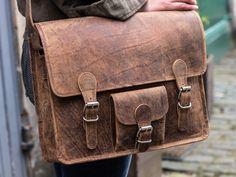 Medium Vintage Leather Satchel With Front Pocket 15 Inch https://www.scaramangashop.co.uk/item/2115/76/Gifts-For-Women/Medium-Vintage-Leather-Satchel-With-Front-Pocket-15-Inch.html