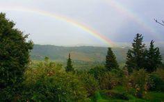 Double Rainbow Mystras Sparta Greece
