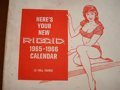 New in Envelope Ridgid Tools Calendar - Cheesecake Beauties -- Antique Price Guide Details Page Disney Collectibles, Ridgid Tools, Price Guide, Cheesecake, Envelope, Calendar, Antique, Books, Beauty