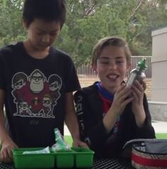 Northpark Elementary creates student made trash free lunches video | Grades of Green