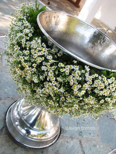 #Christening #Garland made of chamomile @athens - #design trends