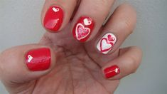 Valentine's day #1 by freemissval from Nail Art Gallery
