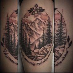 """Into The Wild tattoo done by Pete Silva @ Rockstar Tattoo. """""""