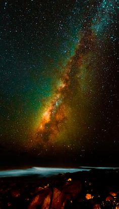 Surfing the Milky Way! Hawaii