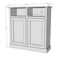 Build furniture yourself! A lot of plans to build your own furniture