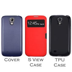 YESOO Protective Case Kits Includes BLUE Extended Battery Cover BATTERY NOT INCLUDED Smart View Case And TPU Cover For Samsung Galaxy S4 SIV i9500 Compatibale With Anker Hyperion Onite Seidio Gorilla Gadgets and Other Brands From 4200mAh To 6000mAh S View Red  TPU Black >>> Check out this great product. (Note:Amazon affiliate link) #CellPhonesAccessories