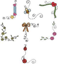 7border Embroidery Designs