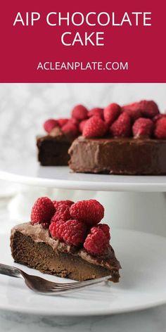 AIP Chocolate Cake recipe from acleanplate.com via @acleanplate