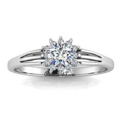 Diamond Engagement Rings Under 100