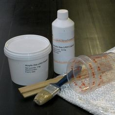 Acrylic One/1  Polymergips TESTKIT One 1, Soap, Personal Care, Bottle, Model Building, Tumblers, Self Care, Personal Hygiene, Flask