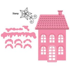 Die-Cutting | Marianne Design Collectables Dies W/Stamps-Banners & Text Christmas | Blitsy