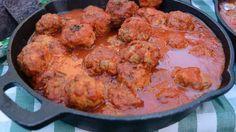 Meatballs Recipe | Mario Batali | Recipe - good starting point for homemade meatballs.
