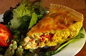 New Mexico Hatch Green Chile Quiche - Powered by @ultimaterecipe