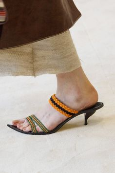 Loewe Spring '17   The Shoes at Paris Fashion Week You'll Want to Zoom in On Right Now   POPSUGAR Fashion Photo 127