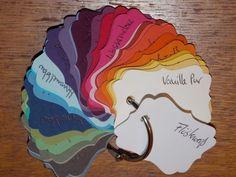 Farbcode für die aktuellen Stämpin Up Farben. Ab Juni kann man den bei mir kaufen. Www.kerstinskartenwerkstatt.de