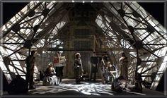 Hamlet - set design and lighting design by Richard Finkelstein