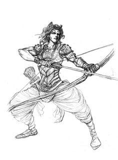 garudayana fan art - karna by JReinhart.deviantart.com on @deviantART
