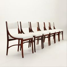 Set of 6 model 110 dinner chairs from the sixties by Ico Parisi for Cassina