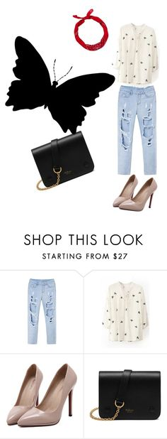 """the road"" by itsme-yola ❤ liked on Polyvore featuring WithChic, Mulberry and New Look"