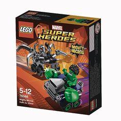 LEGO Super Heróis - Poderosos Micros: Hulk vs Ultron - 76066