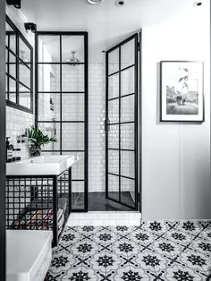 Image result for urban industrial bathroom