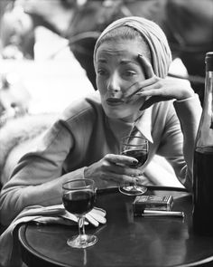 Elise Daniels, turban by Paulette, Rue  François  -Premier, Paris…