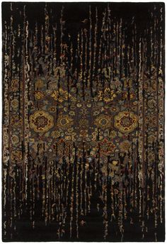 Spring - 29101 - Patterned Rectangular Contemporary Area Rug