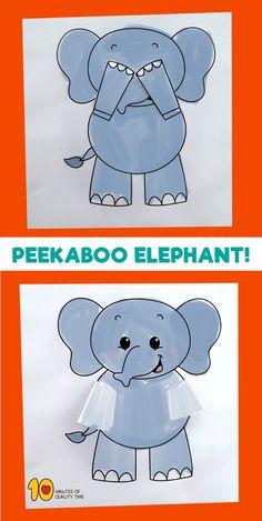 Peekaboo Elephant Pr