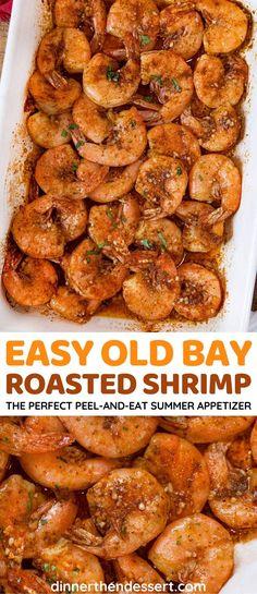 Baked Shrimp Recipes, Fish Recipes, Seafood Recipes, Shrimp Dinner Recipes, Shrimp Meals, Fish Recipe Dinner Party, Shrimp Bake, Seafood Appetizers, Recipies