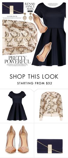 """""""Elegant"""" by vanjazivadinovic ❤ liked on Polyvore featuring Gianvito Rossi, Dorothy Perkins, Miguel Ases, polyvoreeditorial and zaful"""