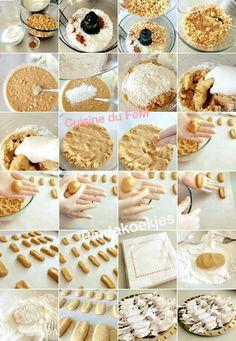 pindakoekjes stap voor stap in 2020 Biscuits, High Tea, Cookie Recipes, Food And Drink, Yummy Food, Sweets, Cookies, Breakfast, Desserts