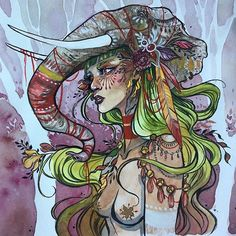 """Also my original of """"Palm Warrior"""" is available at my shop. I'm asking $400USD for her. All proceeds aside from shipping/packaging costs will go to a charity who is fighting to put a stop to palm oil corruption. I'm currently researching the best charity to donate the money to. Let me know if any of you know a morally responsible charity to donate to. I am currently researching WWF and Rainforest Rescue. Please, if you don't know why palm oil is horrible, do some research into it. It's in…"""