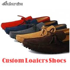 Customized loafers offer best styling options for men.
