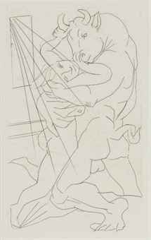 picasso minotaur graphics - Google Search