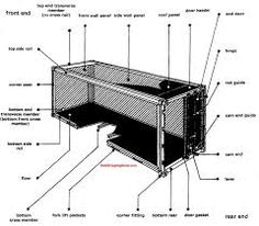 shipping container standard container description