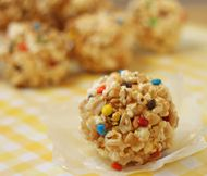 Packed Popcorn Balls Recipe - How to Make Popcorn Balls Candy - Homemade Popcorn Balls