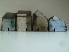 Rowena Brown: Clay houses - I love these