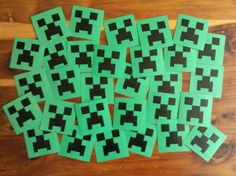 minecraft valentines / http://creeksidelearning.com/2014/01/08/creeper-valentines/