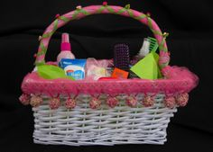 Don't forget....Ladies room basket