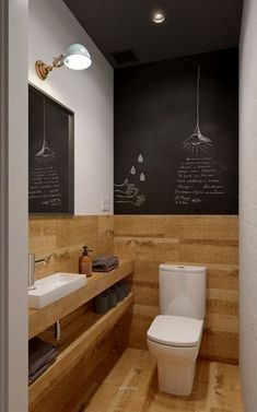minimalistische Badezimmer von de baños pequeños modernos So kommen kleine Badezimmer groß raus Beige Bathroom, Wood Bathroom, Bathroom Flooring, Bathroom Interior, Bathroom Ideas, Bathroom Remodeling, Bathroom Modern, Remodel Bathroom, Remodeling Ideas
