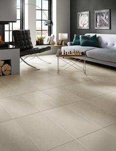Photo Features Aural Sand 12 X 24 Field Tile On The Floor