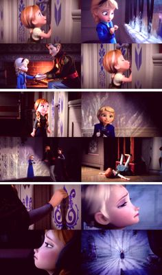 """Do You Want to Build a Snowman?"" Anna and Elsa"