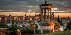Kingdom of Scotland | Edinburgh at Sunset
