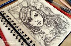 sketchbook_page. by Lady2.deviantart.com on @deviantART