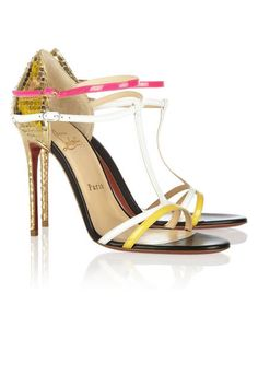The hottest summer sandals: Christian Louboutin Arnold strappy sandals