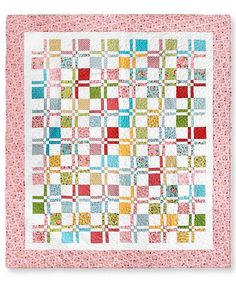 This sneaky little pattern makes the disappearing nine patch quilt block really work for you. The Magically Self Sashing Disappearing Nine Patch Quilt, like other nine patch quilt patterns, is very easy to piece together. Charm Pack Quilt Patterns, Charm Pack Quilts, Quilt Block Patterns, Pattern Blocks, Quilt Blocks, Charm Quilt, Quilting For Beginners, Quilting Tutorials, Quilting Projects