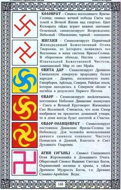 Значение свастических символов в Древней Руси