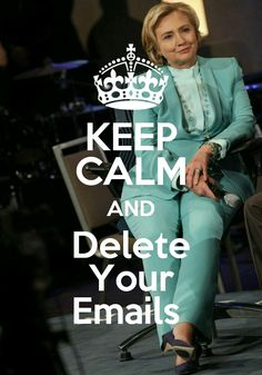 Keep Calm and...Delete Your Emails