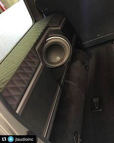#Repost from @jlaudioinc ・・・ Mercedes Benz G-wagon featuring our #8W7 subwoofer by @ultimateauto ...