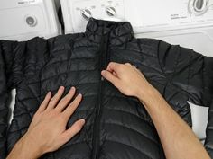 Repair Your Gear - Patagonia® Repair & Product Care Guides ;How to Wash and Dry a Patagonia Down Jacket How to wash your Patagonia Down Jacket. Author: Brittany McCrigler Time Required: No estimate Difficulty: Very easy